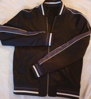 H&M College Jacket dark blue
