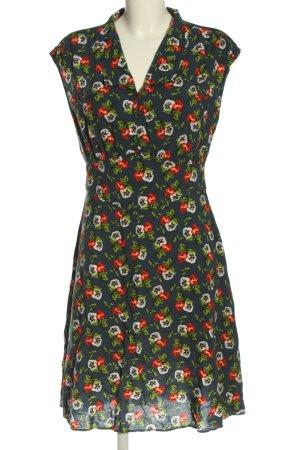 Blutgeschwister Midi-jurk volledige print casual uitstraling