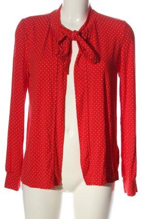 Blutgeschwister Shirt Jacket red-white spot pattern casual look