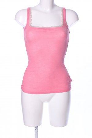 Blutgeschwister Tank Top pink-natural white casual look