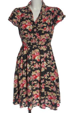 Blutsgeschwister Vestido línea A estampado floral look casual