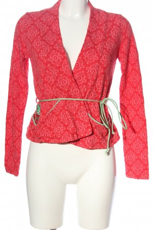 Blutsgeschwister Cardigan grafisches Muster Casual-Look