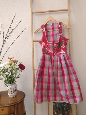 Blutsgeschwister A Line Dress raspberry-red-sage green