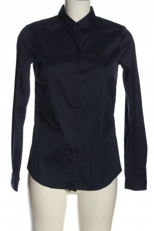 Blutsgeschwister Hemd-Bluse blau Business-Look