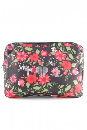 Blutsgeschwister Laptop bag flower pattern business style
