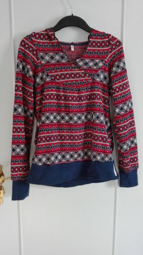 Blutgeschwister Long Sweater multicolored