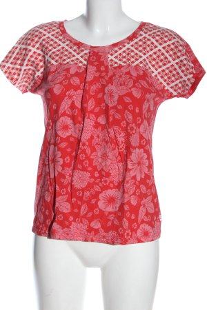 Blutsgeschwister Camiseta estampada estampado con diseño abstracto look casual