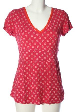 Blutsgeschwister Camiseta estampada rosa look casual