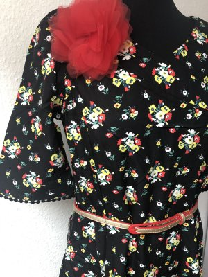 Blutsgeschwister Robe mi-longue multicolore