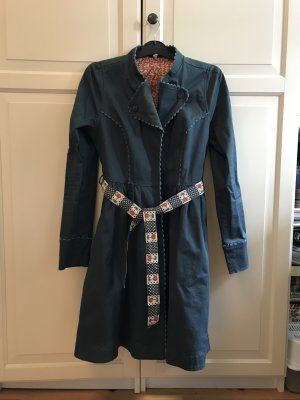 Blutsgeschwister Schwingender Mantel blau Größe S