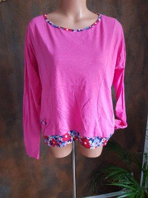 blutsgeschwister shirt langarm pink M