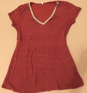 Blutsgeschwister Shirt Tender Coer Cache, springbreak-dots Gr. L