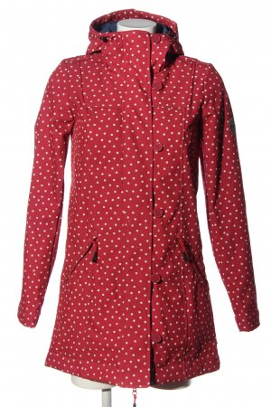 Blutsgeschwister Softshell Jacket red-white spot pattern casual look