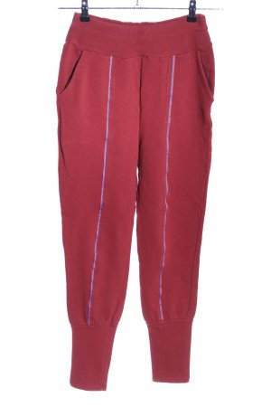 Blutsgeschwister Sweathose rot Casual-Look