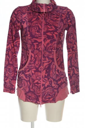 Blutsgeschwister Sweatshirt rose-violet imprimé allover style décontracté