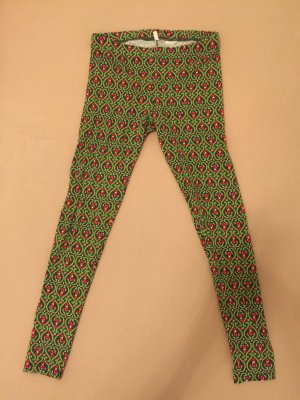 Blutgeschwister Leggings green cotton
