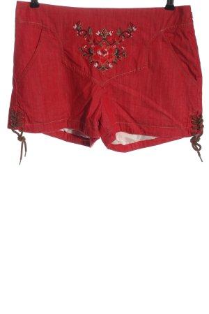 Blutsgeschwister Folkloristische broek rood casual uitstraling