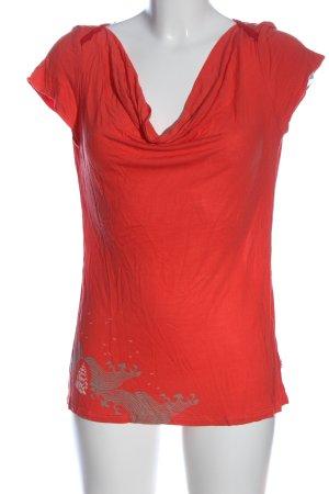 Blutsgeschwister Waterval shirt veelkleurig casual uitstraling