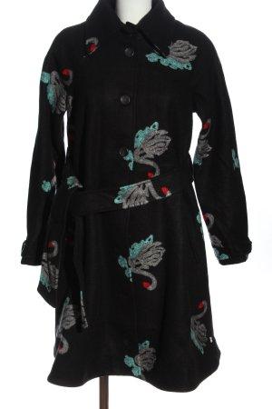 Blutsgeschwister Between-Seasons-Coat allover print casual look