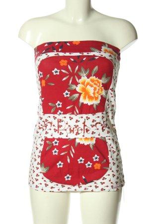 Blutsschwester Bandeau top bloemenprint casual uitstraling