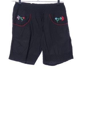 Blutsschwester High-Waist-Shorts schwarz Casual-Look