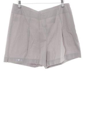 Blutsschwester High-Waist-Shorts grau Casual-Look