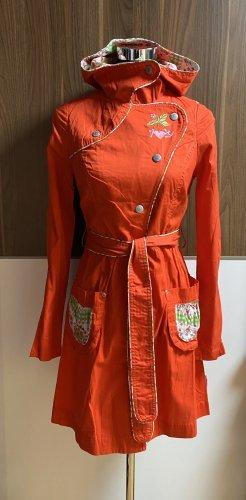 Blutsschwester Manteau à capuche multicolore