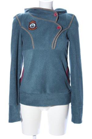 Blutsschwester Sweatshirt blauw casual uitstraling