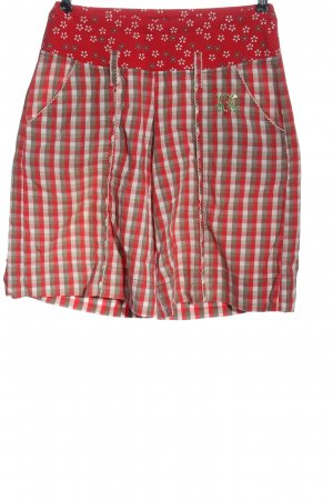 Blutsschwester Folkloristische broek geruite print casual uitstraling