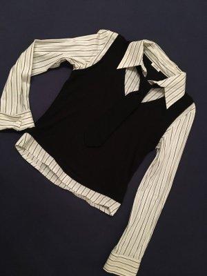 Bluze / 2 in 1 Shirt & Weste mit Kragen von Pimkie. Gr. 38. NEU