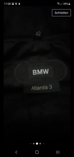 BMW Leather Trousers black