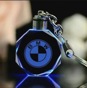 BMW Key Chain white