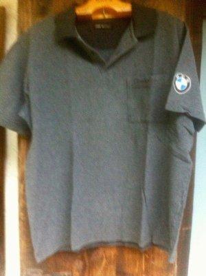 """""""BMW"""" - Poloshirt, M, anthrazit, guter Zustand"""