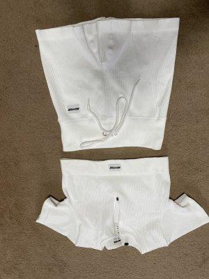 Bo+tee Ensemble en jersey blanc