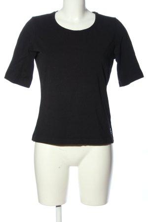 bo viva T-Shirt schwarz Casual-Look