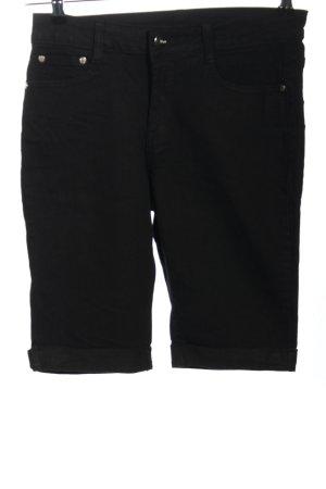 BOB Pantaloncino di jeans nero stile casual
