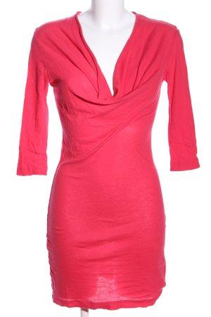 bobi Jersey Dress pink casual look