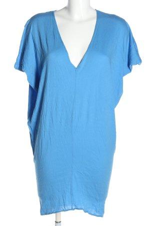 bobi Sukienka o kroju koszulki niebieski W stylu casual
