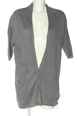 bobi Cardigan light grey flecked casual look