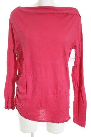 bobi Sweat Shirt neon red casual look