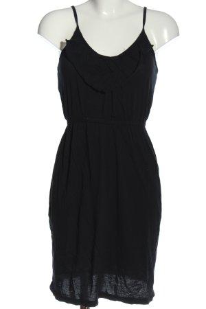 bobi Pinafore dress black casual look