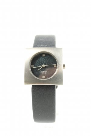 Boccia Analog Watch black casual look