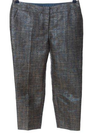 Boden Spodnie 7/8 niebieski-złoto Abstrakcyjny wzór W stylu casual
