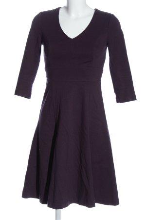 Boden A-Linien Kleid lila Elegant