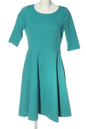 Boden A-Linien Kleid türkis Elegant
