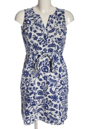 Boden Ołówkowa sukienka niebieski-biały Abstrakcyjny wzór W stylu casual