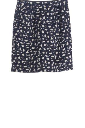 Boden Ołówkowa spódnica niebieski-biały Abstrakcyjny wzór W stylu casual