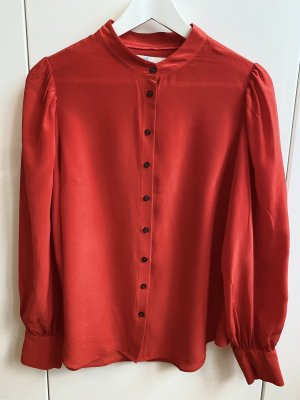 Boden Silk Blouse red