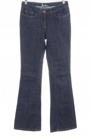 Boden Boot Cut Jeans dunkelblau Casual-Look