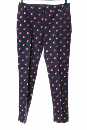 Boden Pleated Trousers allover print business style